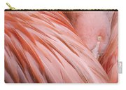 Blushing Flamingo Carry-all Pouch