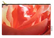 Blushing Orange Rose 2 Carry-all Pouch