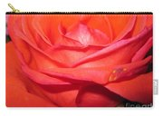 Blushing Orange Rose 7 Carry-all Pouch