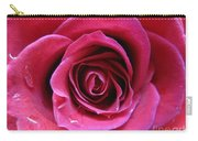 Blushing Pink Rose 3 Carry-all Pouch