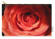 Blushing Orange Rose 3 Carry-all Pouch