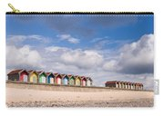 Blyth Beach Huts Carry-all Pouch