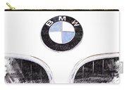 Bmw Z3 Emblem Sketch Carry-all Pouch