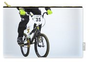 Bmx Racer Goes Airborne Carry-all Pouch