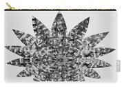 Bnw Black N White Star Ufo Art  Sprinkled Crystal Stone Graphic Decorations Navinjoshi  Rights Manag Carry-all Pouch