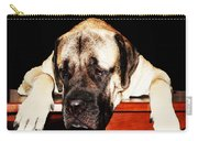 Mastiff Art By Sharon Cummings Carry-all Pouch