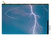 Bo Trek The Lightning Man Carry-all Pouch by James BO  Insogna