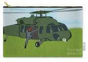 Boarding A Helicopter Carry-all Pouch