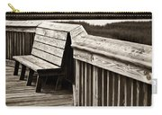 Boardwalk Bench Carry-all Pouch