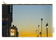 Boardwalk House Of Blues At Sunrise Carry-all Pouch
