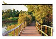 Boardwalk In A Forest, Magee Marsh Carry-all Pouch