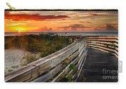 Boardwalk Sunrise Amelia Island Florida Carry-all Pouch