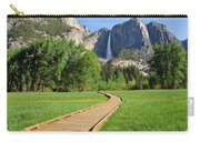 Boardwalk To Yosemite Falls  Carry-all Pouch