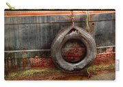 Boat - Abstract - It Was A Good Year Carry-all Pouch by Mike Savad