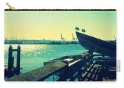 Boat At Alki Beach Carry-all Pouch