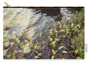 Boat At Dock  Carry-all Pouch by Elena Elisseeva