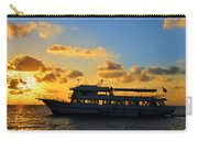 Boat At Sunrise Carry-all Pouch