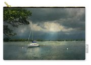 Boat - Canandaigua Ny - Tranquility Before The Storm Carry-all Pouch