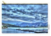 Boat Dock At Holter Lake Carry-all Pouch