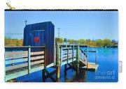 Boat Dock In Rhode Island Carry-all Pouch