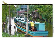 Boat For Transportation On Canals In Bangkok-thailand Carry-all Pouch