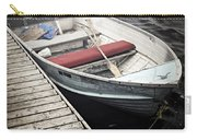 Boat In Fog Carry-all Pouch by Elena Elisseeva