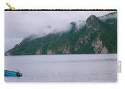 Boat In The Mist Carry-all Pouch