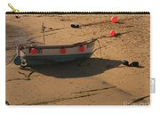 Boat On Beach 04 Carry-all Pouch by Pixel Chimp