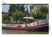Boat On Canal Du Midi Homps France Dsc01717  Carry-all Pouch