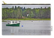 Boat On Cove In Glen Margaret-ns  Carry-all Pouch