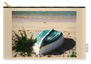 Boat On Devonshire Bay Beach Carry-all Pouch