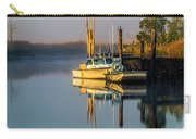 Boat On The Creek Carry-all Pouch