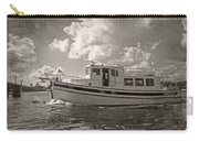 Boat On The Water Carry-all Pouch