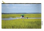 Boat Ride In The Marsh Carry-all Pouch