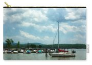 Boat - Sailboat At Dock Cold Springs Ny Carry-all Pouch