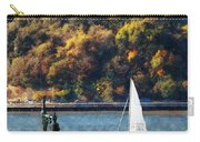 Boat - Sailboat Near Chelsea Pier Carry-all Pouch