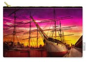 Boat - Sailing - Fleet Week Carry-all Pouch by Mike Savad