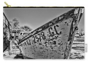 Boat - State Of Decay In Black And White Carry-all Pouch