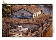 Boat - Tuckerton Seaport - Hotel Decrab  Carry-all Pouch by Mike Savad