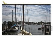Boat Under The Clouds Carry-all Pouch