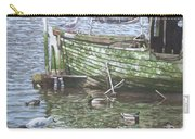 Boat Wreck With Sea Birds Carry-all Pouch