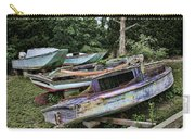 Boat Yard Carry-all Pouch by Heather Applegate