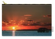 Boathouse At Dawn Carry-all Pouch