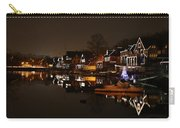 Boathouse Row All Lit Up Carry-all Pouch by Bill Cannon