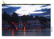 Boathouse Row Along The Schuylkill River At Dawn Carry-all Pouch