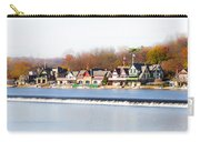 Boathouse Row In Autumn Carry-all Pouch