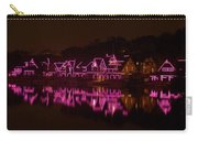 Boathouse Row In Pink Carry-all Pouch