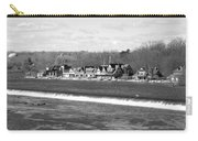Boathouse Row Winter B/w Carry-all Pouch