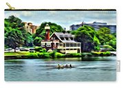 Boathouse Rowers On The Row Carry-all Pouch