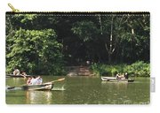Boating In Central Park Carry-all Pouch